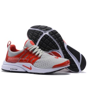 "Кроссовки Nike Air Presto BR GS ""Grey/Red"""
