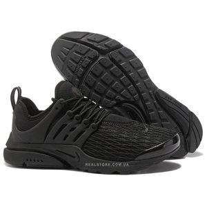 "Кроссовки Nike Air Presto Flyknit Ultra Breathe ""Triple Black"""