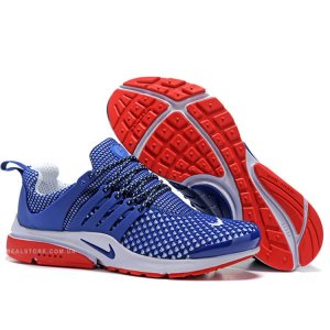 "Кроссовки Nike Air Presto Flyknit ""Blue/White/Red"""