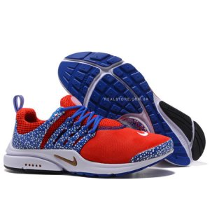 "Кроссовки Nike Air Presto QS Safari Pack ""Gym Red/Blue"""