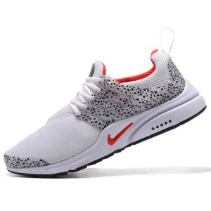 "Кроссовки Nike Air Presto QS Safari Pack ""White/University Red"""