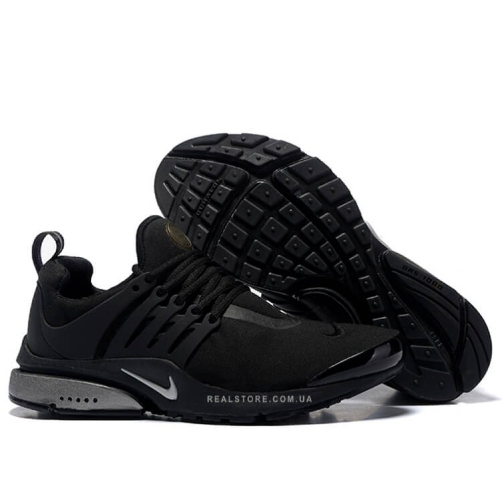 "Кроссовки Nike Air Presto TP QS Fleece Pack ""Black"""