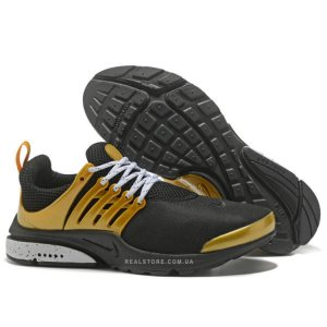 "Кроссовки Nike Air Presto ""Black/Gold"""