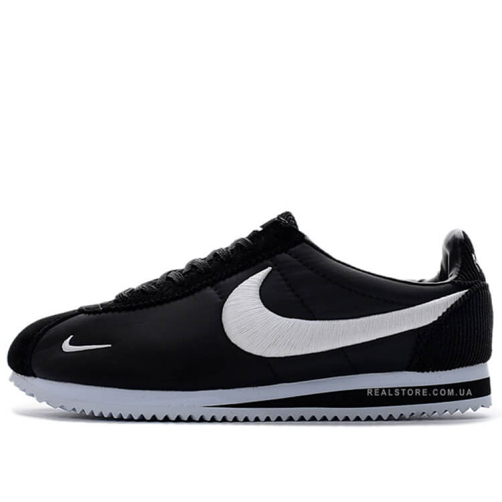 "Кроссовки Nike Classic Cortez Nylon Embroidery ""Black/White"""