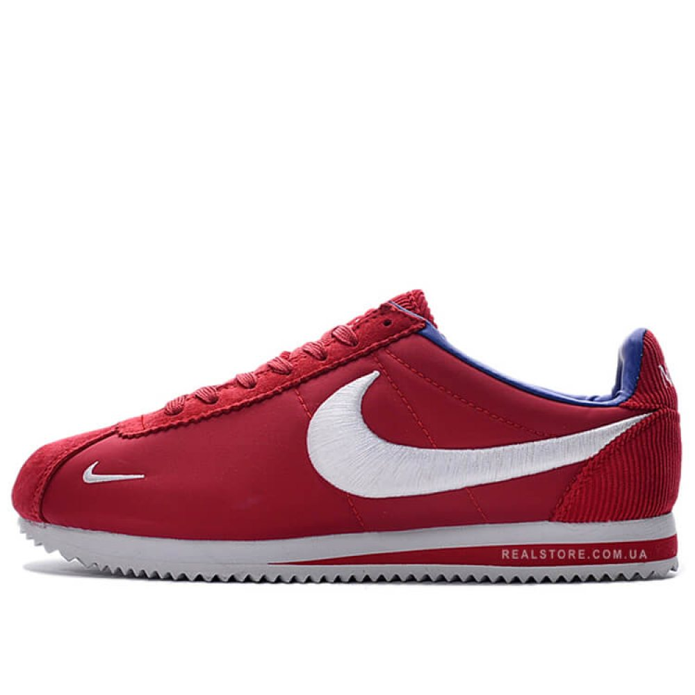 "Кроссовки Nike Classic Cortez Nylon Embroidery ""Dark Red/White"""