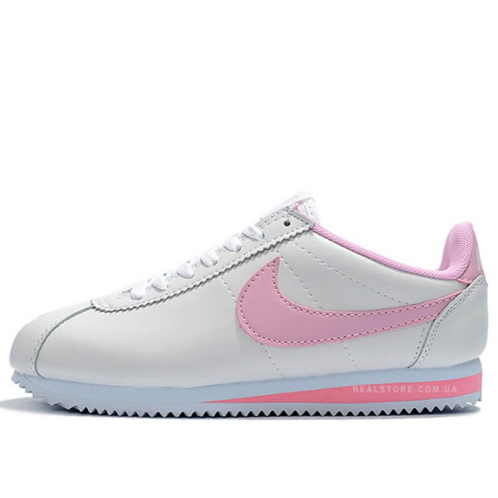 "Кроссовки Nike Classic Cortez ""White/Pink"""