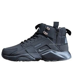 "Кроссовки Nike Air Huarache Mid x Acronym City ""All Black"""