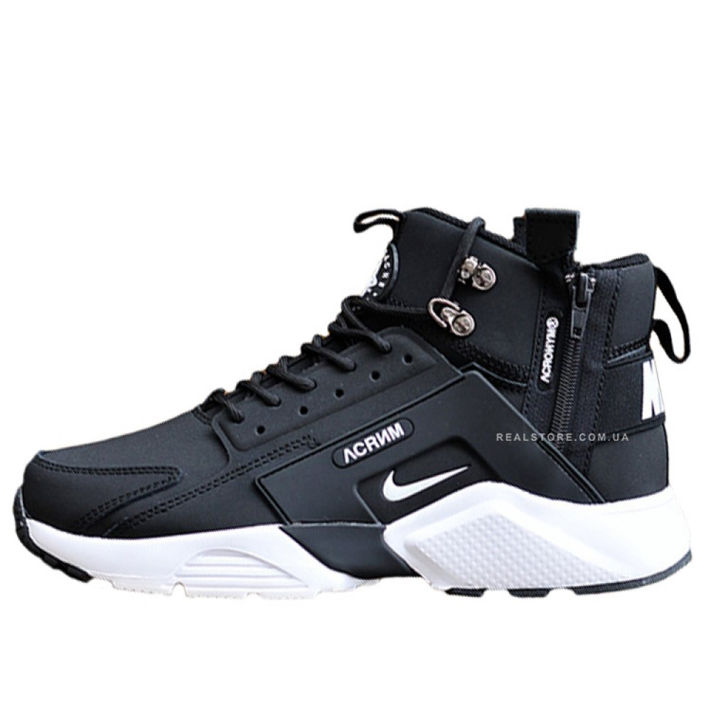 "Кроссовки Nike Air Huarache Mid x Acronym City ""Black/White"""