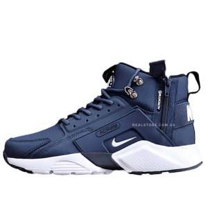 "Кроссовки Nike Air Huarache Mid x Acronym City ""Navy/White"""
