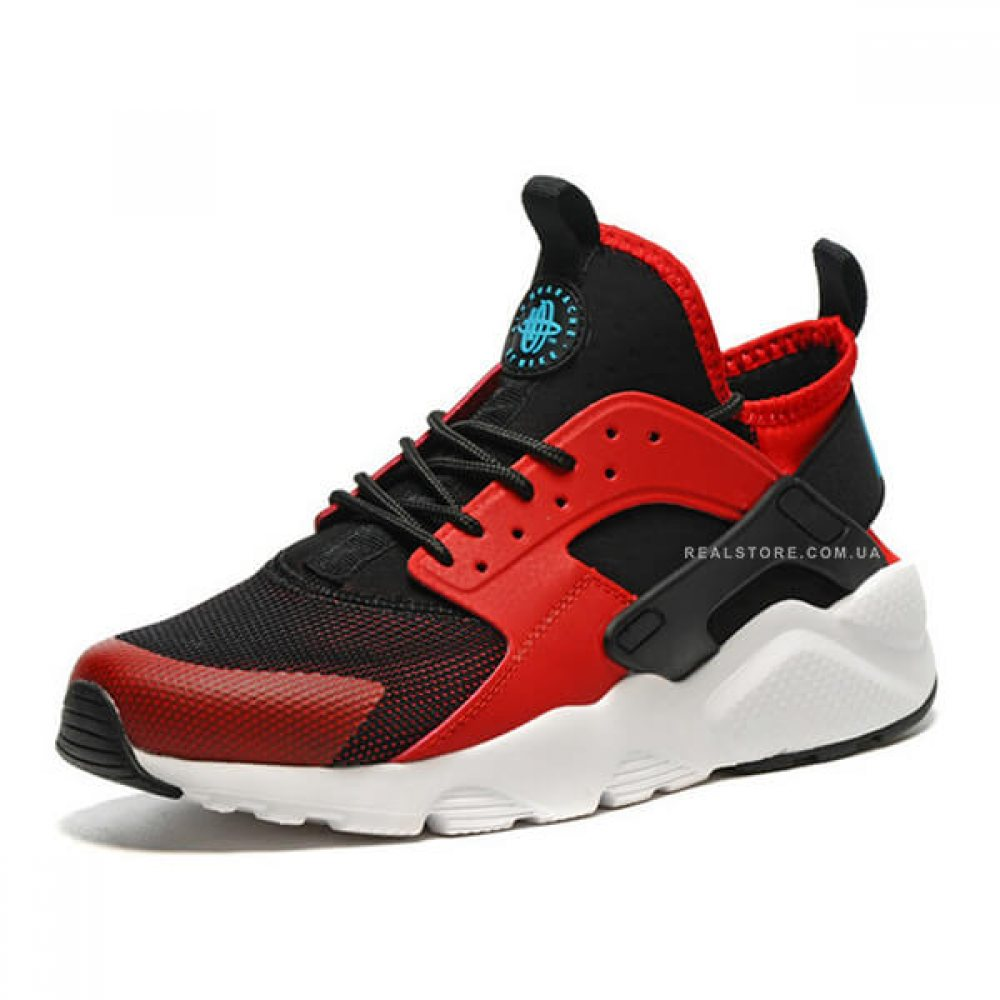 "Кроссовки Nike Air Huarache Run Ultra ""Black/Red"""