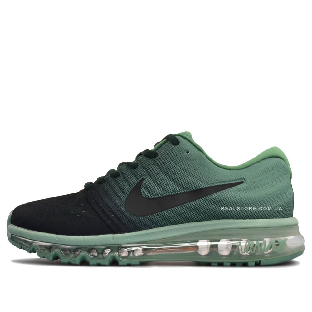 "Кроссовки Nike Air Max 2017 Mens Running ""Green/Black"""