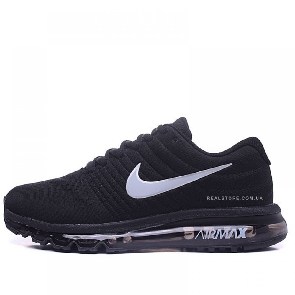 "Кроссовки Nike Air Max 2017 Running ""Core Black/White"""
