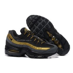 "Кроссовки Nike Air Max 95 Premium ""Black/Gold"""