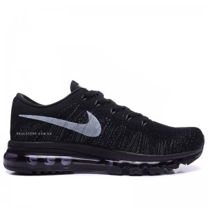 "Кроссовки Nike Air Max Flyknit 2014 ""Black/White"""