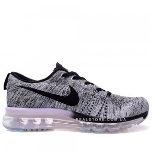 "Кроссовки Nike Air Max Flyknit 2014 ""Gray/Black"""
