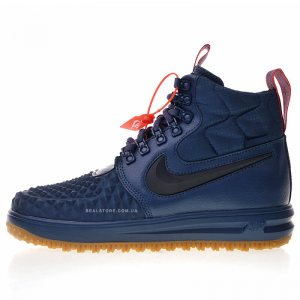 "Кроссовки Nike Lunar Force 1 Duckboot 17 ""Navy/Gum"""