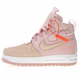 "Кроссовки Nike Lunar Force 1 Duckboot 17 ""Pink"""