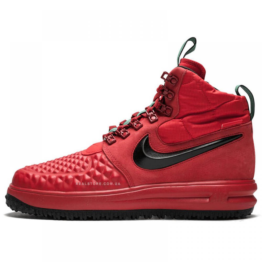 "Кроссовки Nike Lunar Force 1 Duckboot 17 ""Red/Black"""