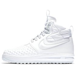 "Кроссовки Nike Lunar Force 1 Duckboot 17 ""Triple White"""