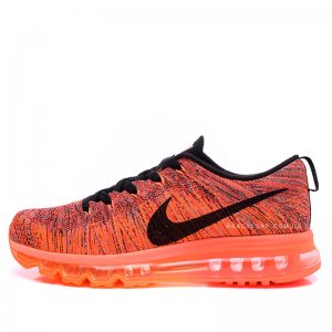 "Кроссовки Nike Wmns Air Max Flyknit 2014 ""Orange/Black"""