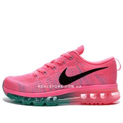 "Кроссовки Nike Wmns Air Max Flyknit 2014 ""Pink"""