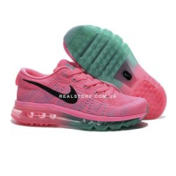 """Кроссовки Nike Wmns Air Max Flyknit 2014 """"Pink"""""""