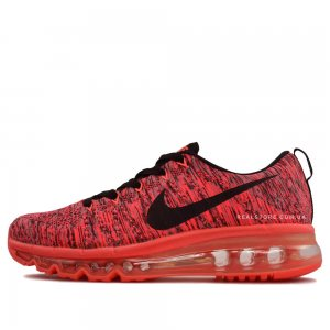 "Кроссовки Nike wmns Air Max Flyknit 2014 ""Red/Black Logo"""