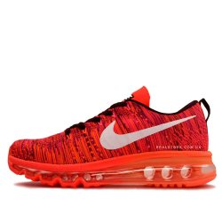 "Кроссовки Nike wmns Air Max Flyknit 2014 ""Red/White Logo"""
