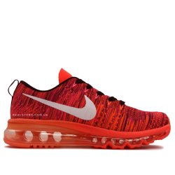 """Кроссовки Nike wmns Air Max Flyknit 2014 """"Red/White Logo"""""""