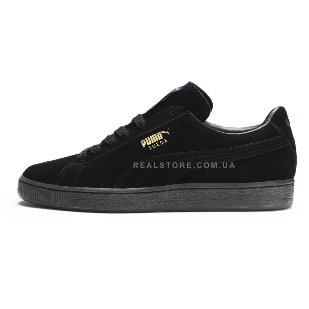 "Кроссовки Puma Suede ""Triple Black"""