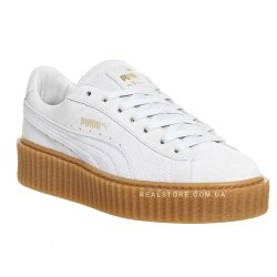 "Кроссовки Puma X Rihanna Creepers ""White/Brown"""