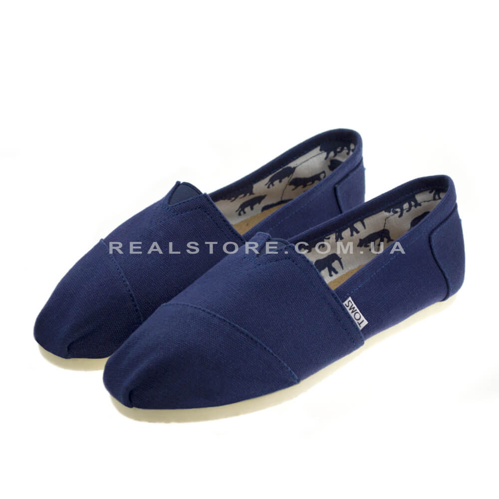 "Эспадрильи Toms Cotton ""Blue"""