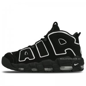 "Кроссовки Nike Air More Uptempo ""Black/White"""