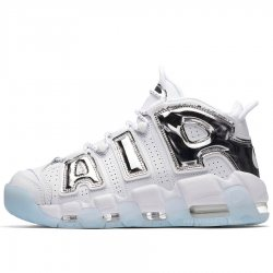 "Кроссовки Nike Air More Uptempo Chrome ""White/Ice"""