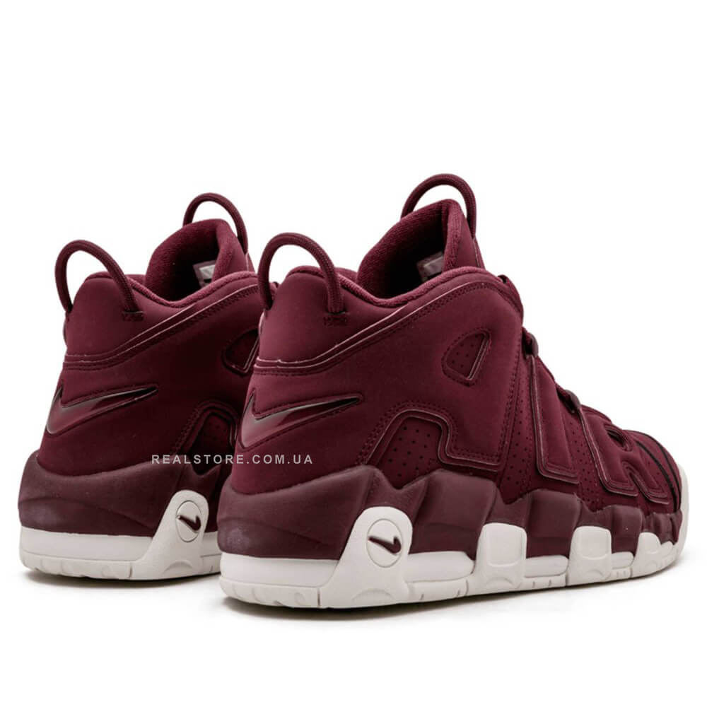 """Кроссовки Nike Air More Uptempo """"Maroon"""""""