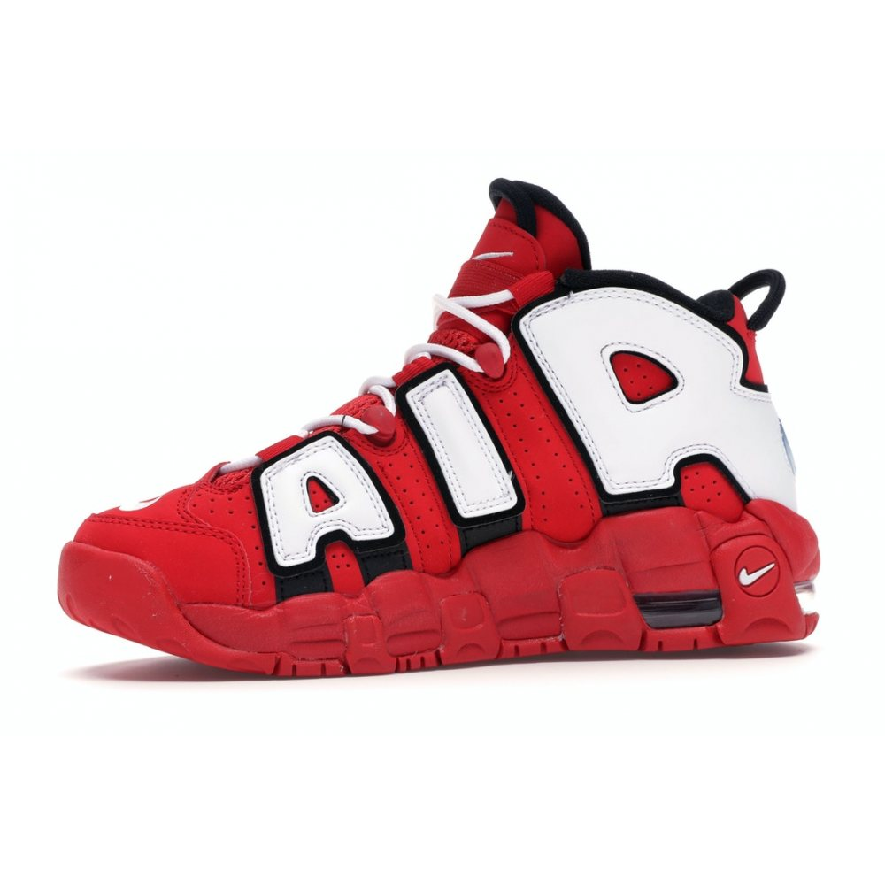"Кроссовки Nike Air More Uptempo Supreme ""Red/Blood"""