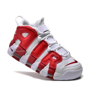 """Кроссовки Nike Air More Uptempo """"White/Red"""""""