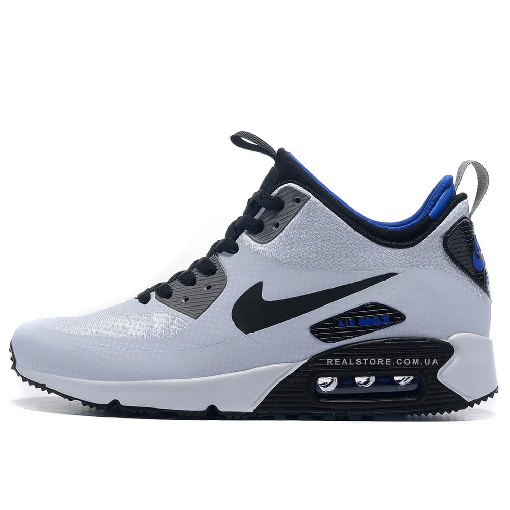 "Кроссовки Nike Air Max 90 MID Winter ""White/Black"", купить ..."