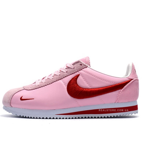 "Кроссовки Nike Classic Cortez Nylon Embroidery ""Pink/Red"""