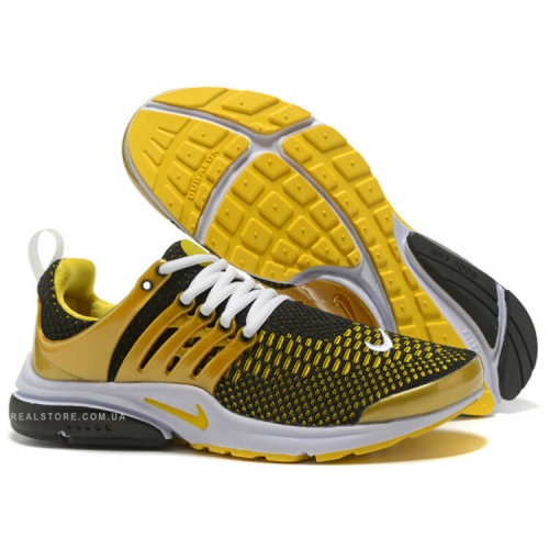 "Кроссовки Nike Air Presto Flyknit Breathe ""Black/Yellow"""
