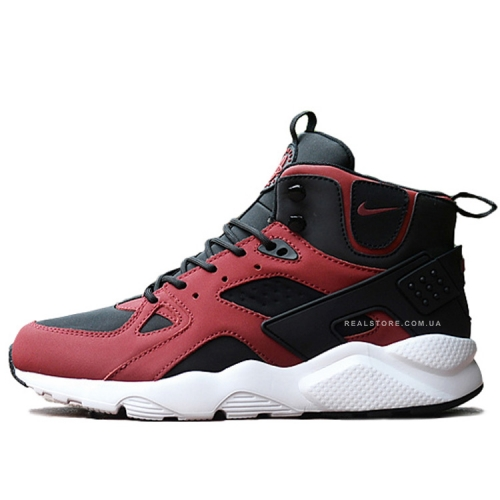 "Кроссовки Nike Air Huarache Winter ""Black/Red"""