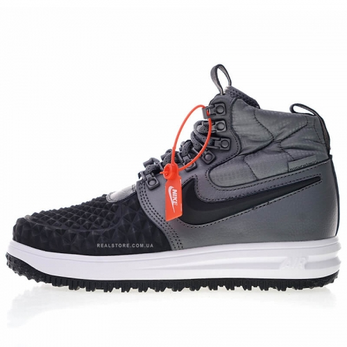 "Кроссовки Nike Lunar Force 1 Duckboot 17 ""Grey/Black"""