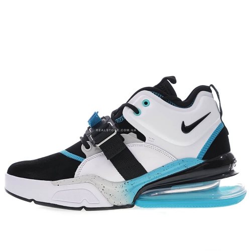 "Кроссовки Nike Air Force 270 PRM ""White/Black/Sky Blue"""
