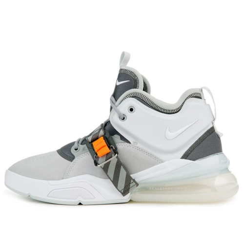 "Кроссовки Nike Air Force 270 PRM ""Wolf Grey/White"""