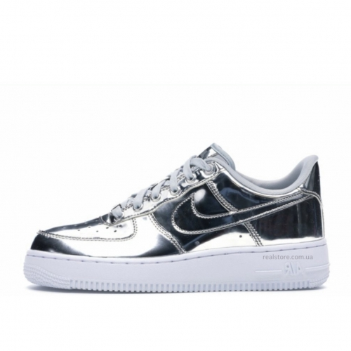 Кроссовки Nike Air Force Low Silver