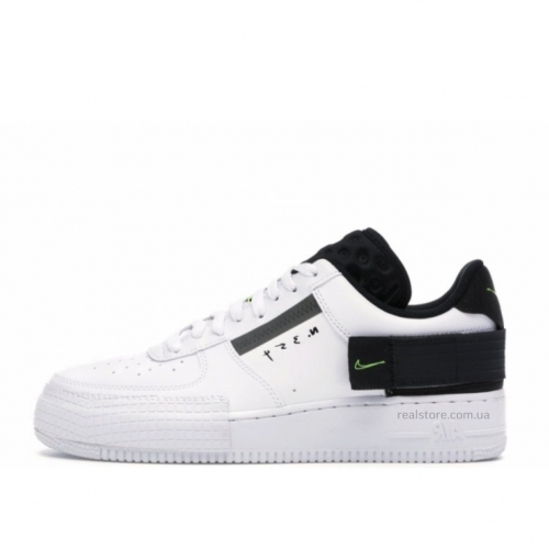 Кроссовки Nike Air Force Shadow White Black