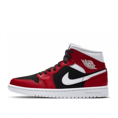 Кроссовки Nike Air JORDAN 1 MID GYM RED BLACK