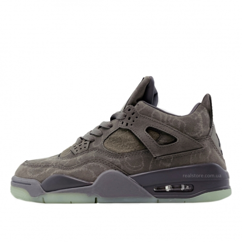 Кроссовки Nike Air Jordan 4 Kaws Grey