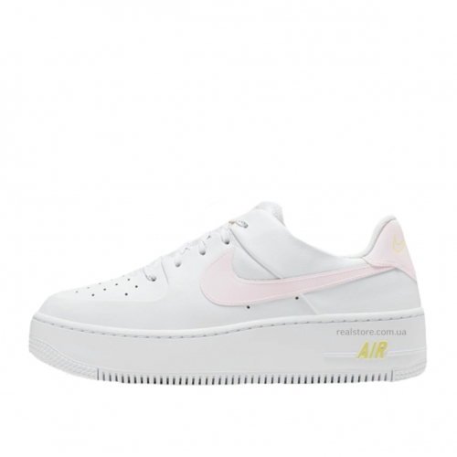 Кроссовки Nike Air Force Low White Pink