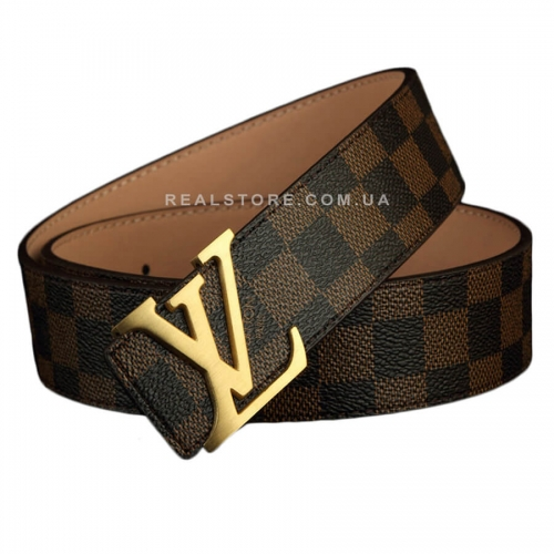"Ремень Louis Vuitton ""Brown/Gold"""